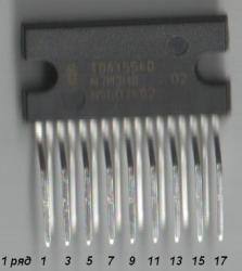 Усилитель на микросхеме TDA 1554q 1555q 1558q
